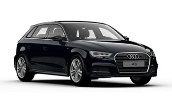 Audi A3 Sportback location